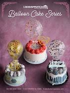 confetti balloon cakes collection