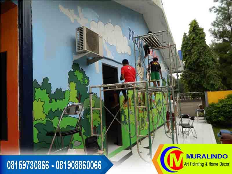 Lukis dinding tk for Mural untuk kanak kanak