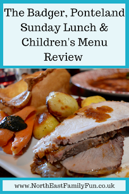The Badger, Ponteland | Sunday Lunch & Children's Menu Review
