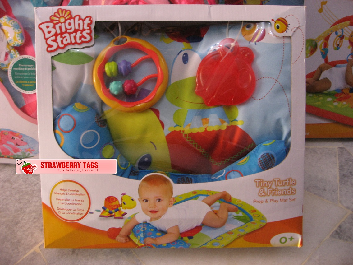Strawberry Tags Bright Starts Tiny Turtle Amp Friends