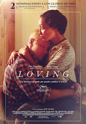 Cartel oficial español: Loving (2016)