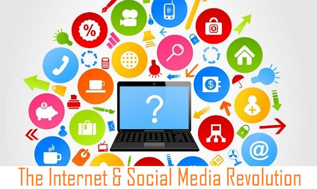 The Internet & Social Media Revolution [Infographic]