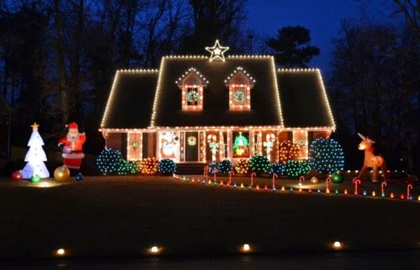 decoración fachada navidad