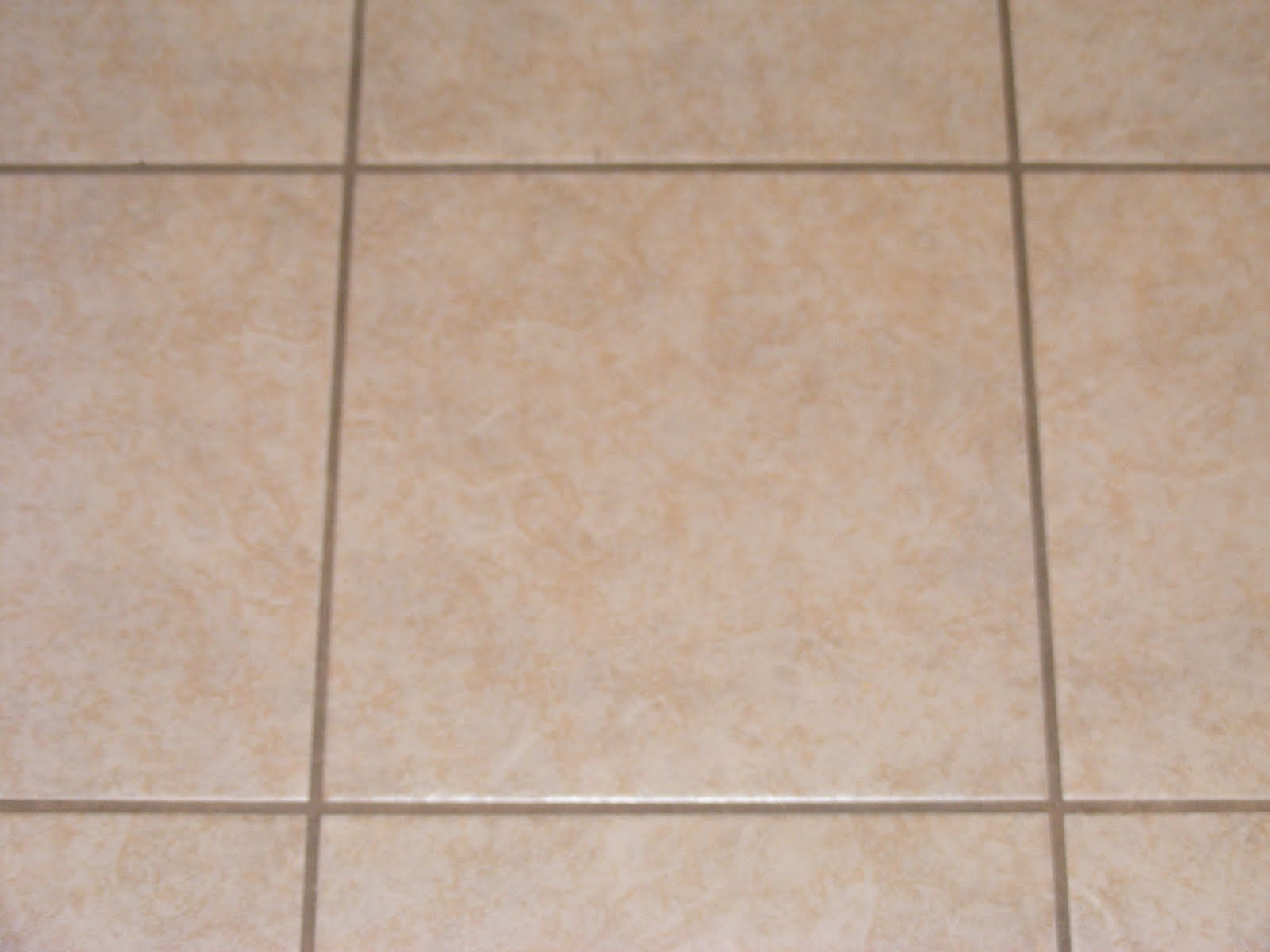 How do you clean floor tile grout