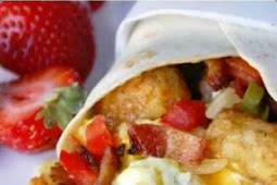 LOADED BREAKFAST BURRITO
