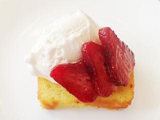 recipes for strawberry lemonade cake