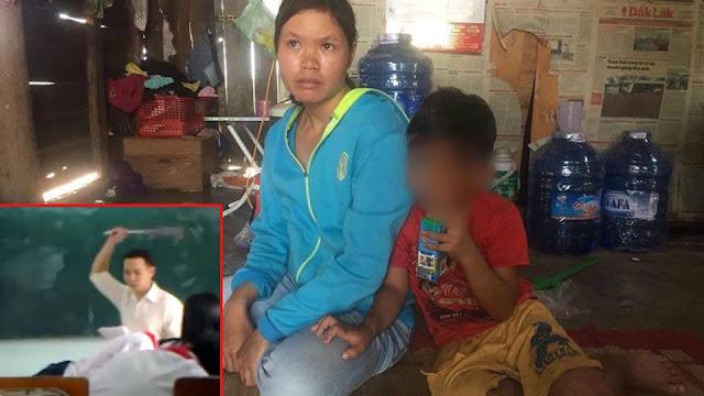 Đắk Lắk: Thầy giáo đánh học sinh lớp 1 dập mũi phải nhập viện