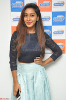 Shravya in skirt and tight top at Vana Villu Movie First Song launch at radio city 91.1 FM ~  Exclusive 160.JPG