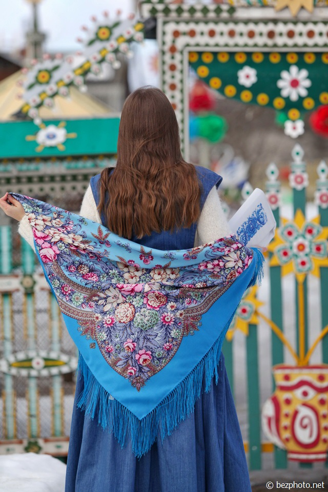 павлопосадские платки фото