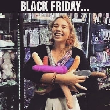 Black friday sex shop