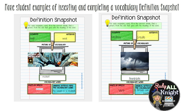 How to Build Vocabulary Lessons Using Digital Interactive Notebooks ...