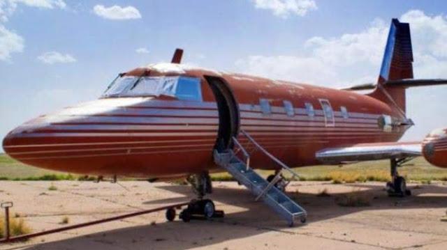 Jet Bekas Elvis Ini laku Dengan Harga Fantastis Rp 5,7 Miliar