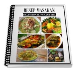 Download Ebook Resep Masakan Tradisional Nusantara Pasar Ummat