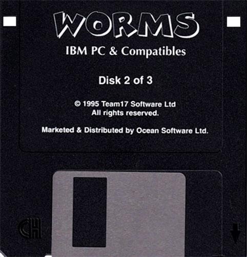 Worms IBM PC Disco 2