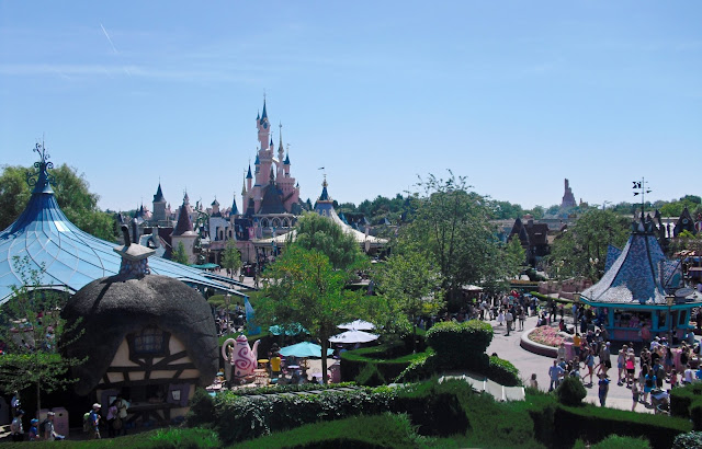 Disneyland výhled