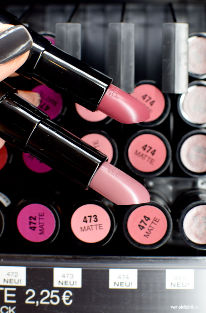 trend IT UP Ultra Matte Lipstick, neues Sortiment, neue Farben, 473, 474