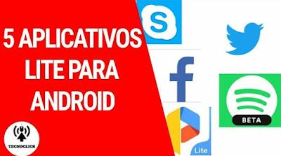 5 aplicativos lite para android
