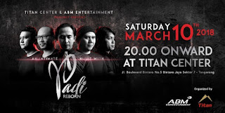 cari tiket konser an intimate night with padi reborn
