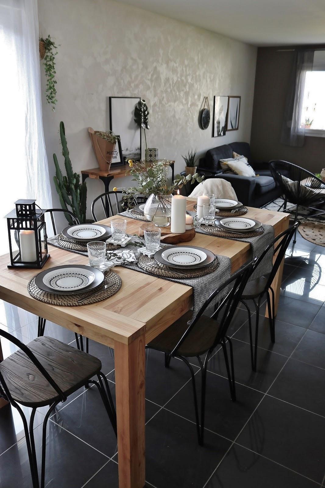 pauline-dress-blog-mode-deco-lifestyle-table-printemps-decoration-eucalyptus-tendance-2018-chemins-de-table-lanterne-boho-chic-boheme-vert-nature-plantes-besancon-fille