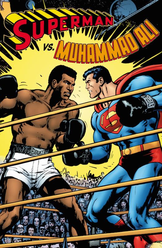 Superman vs. Muhammad Ali, by Dennis O'Neil, Neal Adams,  Dick Giordano, Terry Austin, Gaspar Saladino,, Cory Adams.