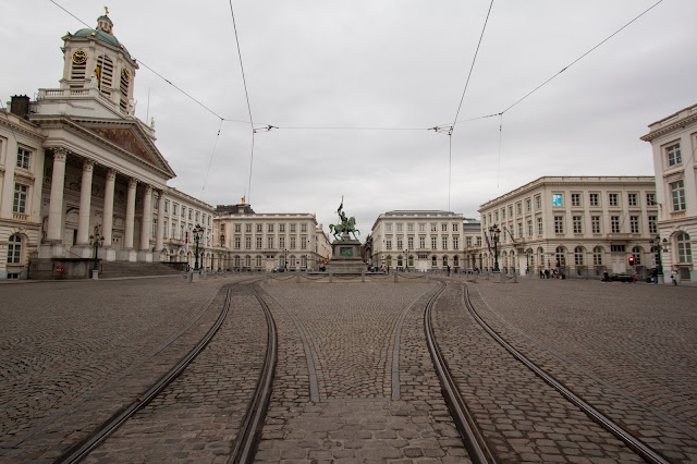 Place du grand Sablon-Bruxelles