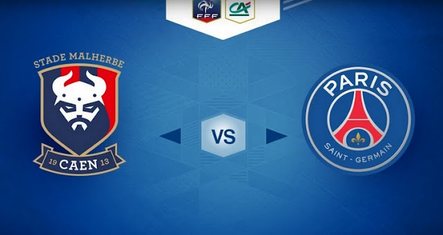 Caen vs Paris Saint Germain Full Match And Highlights