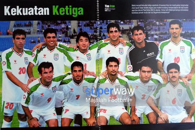 Poster Tim Iran 2000