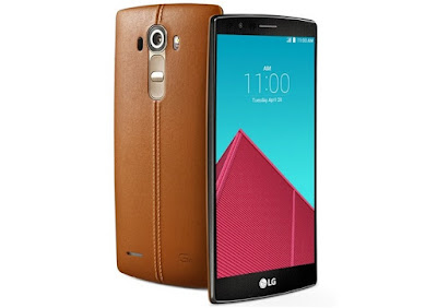 List of Premium Smartphones are Competing at The Top - LG G4 Premium Smartphone with Leather Back Case