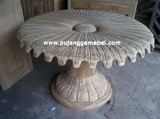 Meja Makan Model Jamur