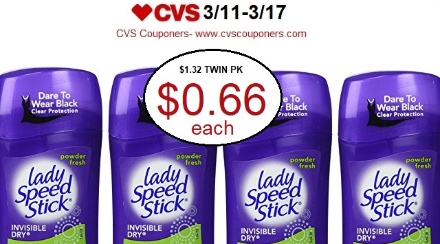 http://www.cvscouponers.com/2018/03/hot-pay-066-for-lady-speed-stick.html