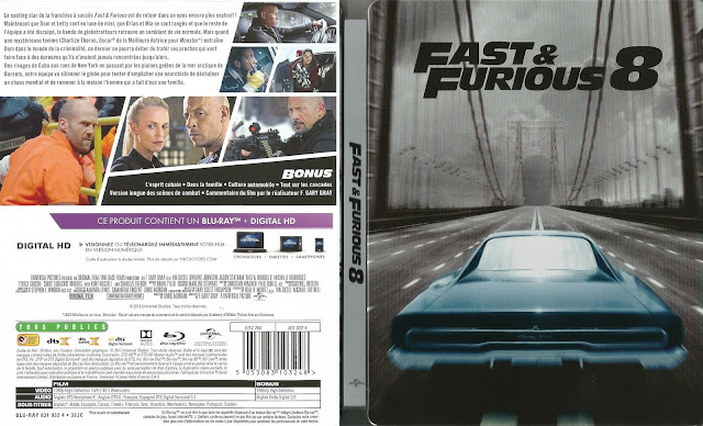 blu ray jaquettes blu ray fast and furious 8. Black Bedroom Furniture Sets. Home Design Ideas