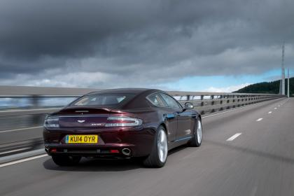 2015 Aston Martin Build an electric feature Rapide back view