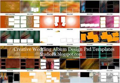 Wedding Album Design Psd Templates