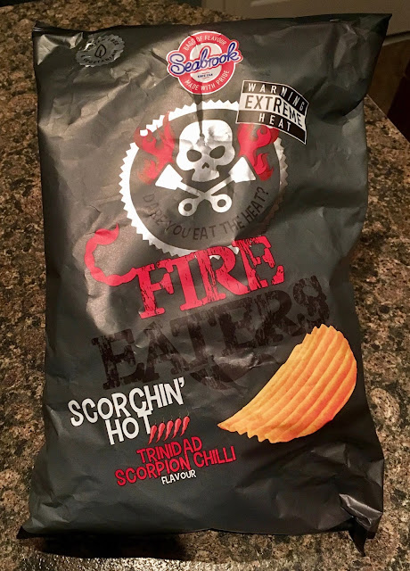 Seabrook Scorchin' Hot Trinidad Scorpion Chilli Crisps
