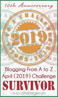 10th Anniversary A to Z Challenge Survivor