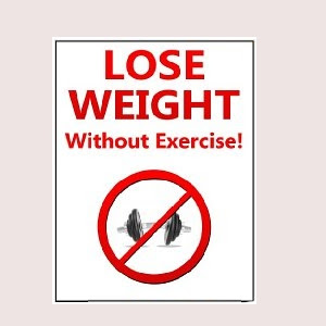 lose weight without exercise  losing weight for all