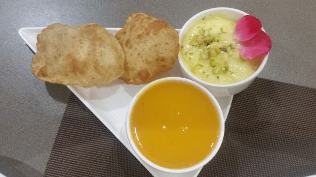 Aamras Poori and Shrikhand