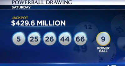 $429.6million powerball lottery ticket sold new jersey