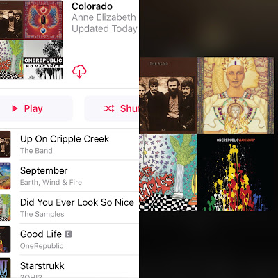 Colorado Workout Playlist of the Week on Apple Music and Spotify