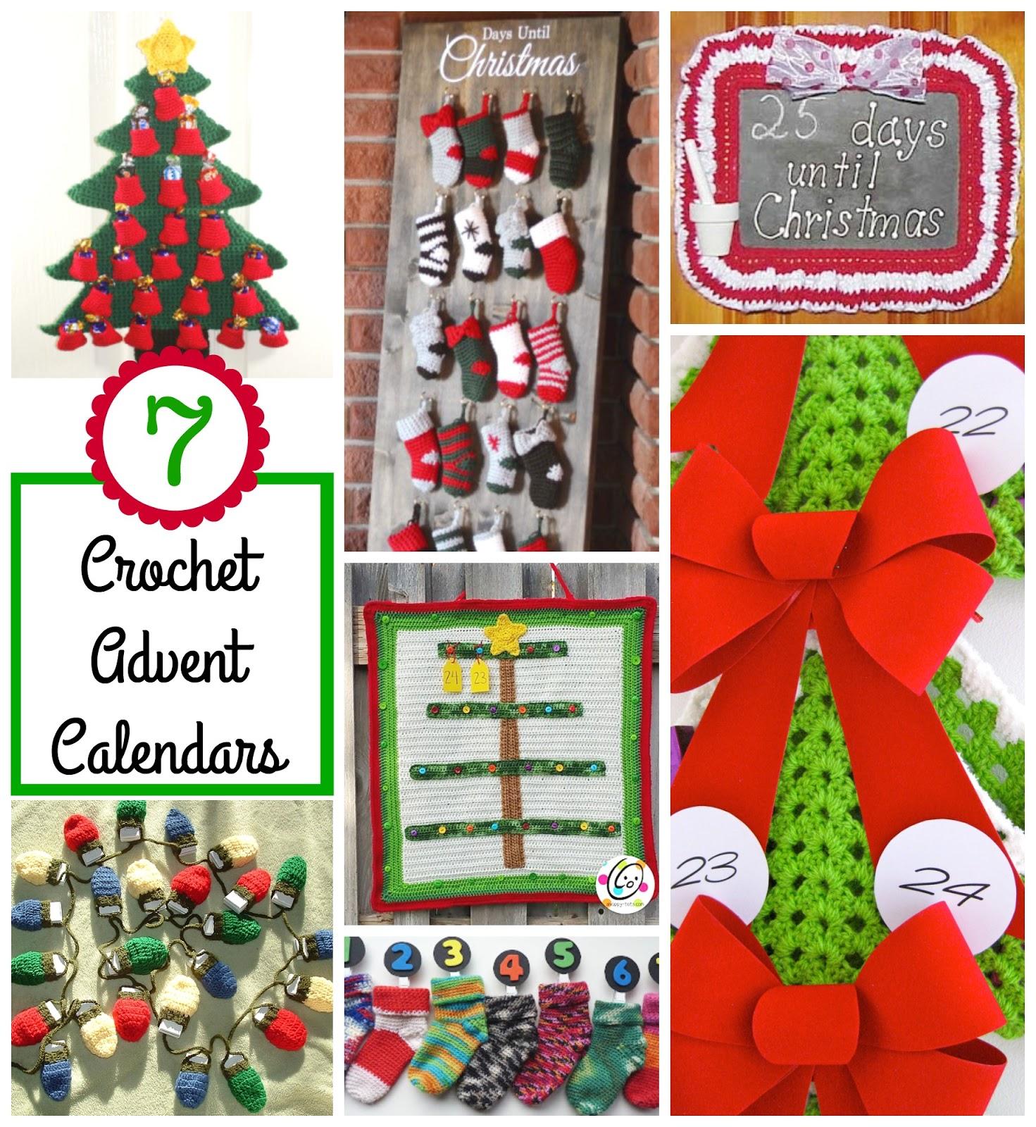 Advent Calendar Ideas Early Years : Fiber flux crochet advent calendar ideas