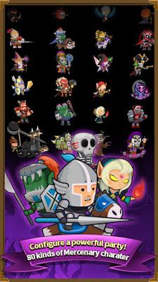 Download Infinity Mercs: Nonstop RPG Mod Apk Latest Version