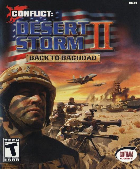 Conflict - Desert Storm II PS2 ISO