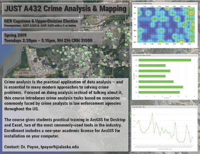 Crime Analysis & Mapping (JUST A432) flyer