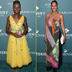 Lupita Nyong'o e Tracee Ellis Ross: bellissime gli ACE Awards al Cipriani 42nd Street di New York
