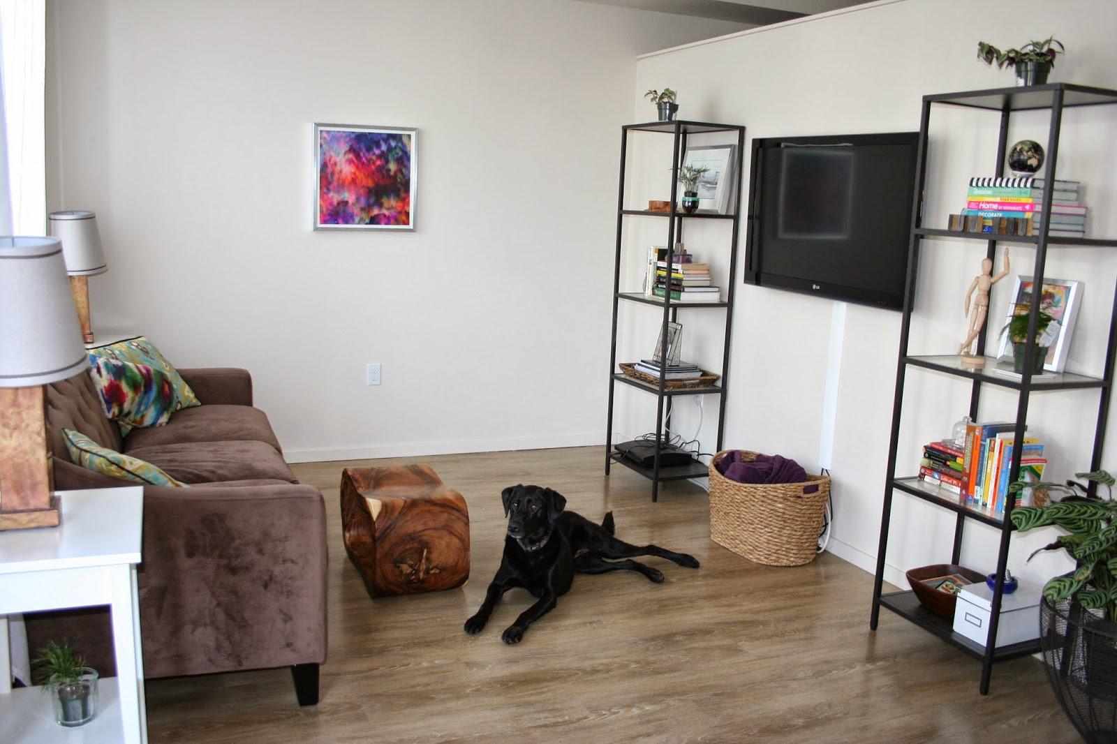 I 39 m glad i exist our living room updates for Living room updates