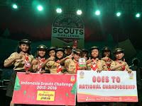 Pramuka Banyumas terbaik Indonesia Scout Chalenge tingkat Jateng