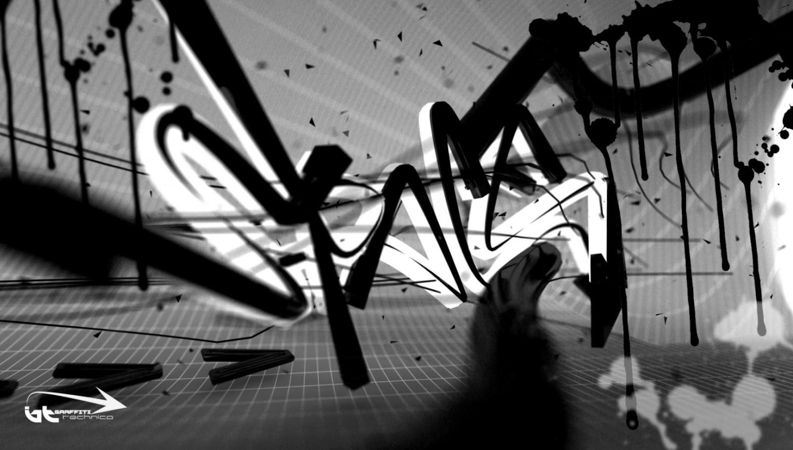 3d Graffiti Wallpapers Graffiti Sample