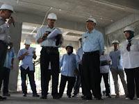 Bupati Sleman Minta  Pembangunan Menara Masjid Agung Sleman Dikebut