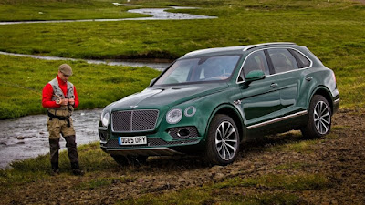 The Bentley Bentayga goes green Look 2018 !!!