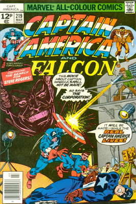 Captain America and the Falcon #219